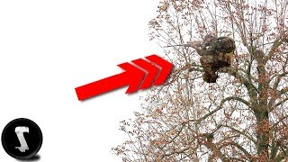 Download Sniper Climbs Tree and Destroys EVERYONE. (45 Feet / 14 Meter High) Video