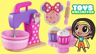 Download Minnie Mouse Deluxe Baking Set & Treats | Toys Unlimited Video