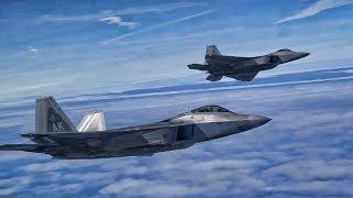 Download F-22 Raptors Inflight • Beautiful But Deadly Video