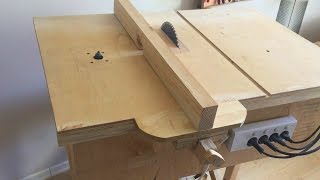 Download Building 4 in 1 Workshop (Homemade table saw, router table, disc sander, jigsaw table) Video