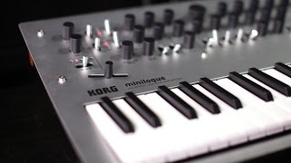 Download Korg minilogue Polyphonic Analog Synthesizer Video
