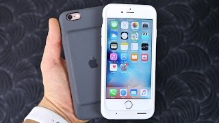 Download Apple Smart Battery Case for iPhone 6S Review & Unboxing Video
