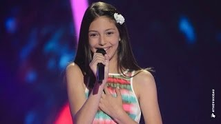 Download Lenisa Sings A Whole New World | The Voice Kids Australia 2014 Video