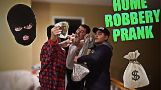 Download INSANE HOME ROBBERY PRANK! (DAD FREAKS OUT!) Video