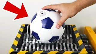 Download SHREDDING FOOTBALL - Experiment at Home Video