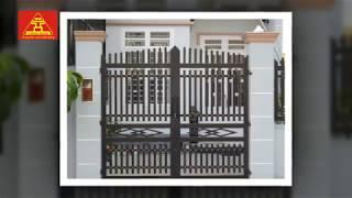 Download Tổng hợp mẫu cổng sắt hộp đẹp đơn giản sang trọng nhất | Sắt mỹ thuật Video