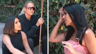 Download Kim and Khloe Kardashian CONFRONT Kourtney About Not Filming KUWTK Video