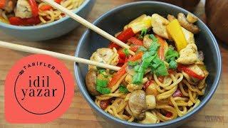 Download Tavuklu Noodle Tarifi - İdil Yazar - Yemek Tarifleri Video