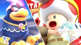 Download Captain Toad: Treasure Tracker - Switch Episode 1 - All Gems (All Toad Levels) Video