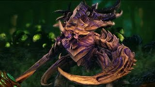 Download Ultralisk Evolution: Noxious and Torrasque (Starcraft 2: Heart of the Swarm) Video