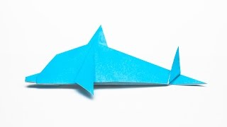 Download How to make an easy Origami Dolphin step by step Video