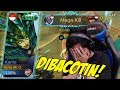 Download PAKE NEW SKIN KARRIE MALAH DI BACOTIN MUSUH :( Mobile Legends Indonesia Video