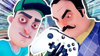 Download THE NEIGHBOR'S IN MY XBOX!!! (Hello Neighbour Full Game) Video