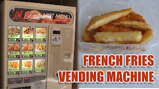 Download Vending Machine French Fries Review | Japan Exclusive Video