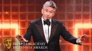 Download Steve Coogan's Hilarious Acceptance Speech | 2019 British Academy Britannia Awards Video