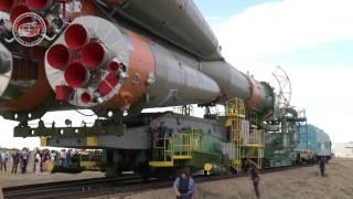 Download Вывоз и установка ракеты-носителя на космодроме Байконур Video