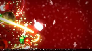 Download [3d Animation] Merry Christmas Video