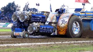 Download Tractor Pulling Putten 2011 Whispering Giant finale 4500kg modified Beach Pull Video