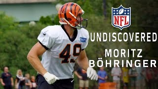 Download Moritz Böhringer Transitions from WR to a New Position & Makes the Bengals Roster | NFL Undiscovered Video