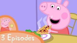 Download Peppa Pig - Yummy food (3 episodes) Video