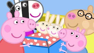 Download Peppa Pig English Episodes - Meet the Rabbit and Zebra Families! - #042 Video