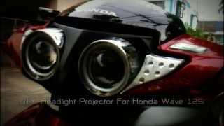 Download Honda Wave 125i - Bi Xenon Projector Project by Thejack3S ไฟโปรเจคเตอร์ Video