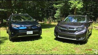 Download 2017 Honda CR-V & Toyota RAV4 – The New Family Cars in America Video