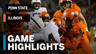 Download Highlights: Penn State Nittany Lions vs. Illinois Fighting Illini | Week 4 Video