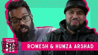 Download Romesh talks to Humza about how girls try to take off his clothes Video