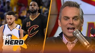 Download Colin Cowherd reacts to the 2018 NBA All-Star voting | THE HERD Video