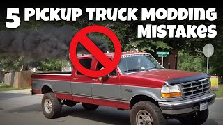 Download 5 Modding Mistakes Owners Make On Their Daily-Driven Pickup Trucks Video