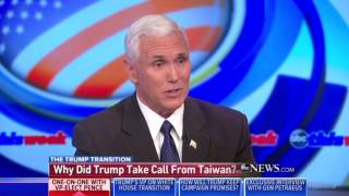 Download Pence Nails Double Standard in Media Over Trump's Call With Leader of Taiwan Video