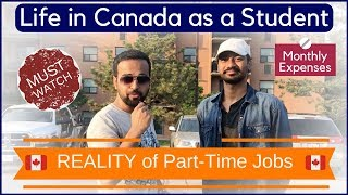 Download 🇨🇦 Reality of Part time jobs in Canada | Life of a Student Video