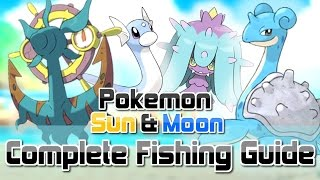 Download Pokemon Sun and Moon ► How To Get All RARE Fishing Encounters (Dhelmise, Feebas, Mareanie & MORE!) Video