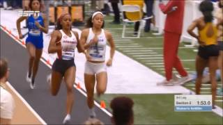 Download 2017 SEC Indoors Women's 4x400 Relay - Florida Track & FIeld Video