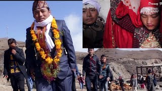 Download Rural Nepali traditional wedding - Groom is going to Bride house with villagers to carry her ... Video