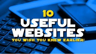 Download 10 Useful Websites You Wish You Knew Earlier! 2018 Video