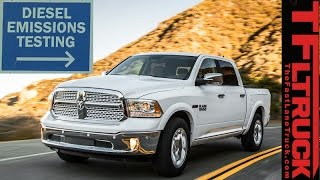 Download We Emissions Test the Ram 1500 EcoDiesel You Can't Buy Because its Under EPA Investigation Video