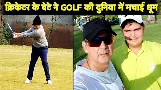 Download Former India Cricketer's Son Making Waves on the Golf field Video