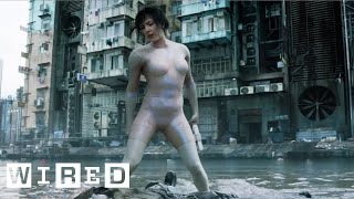 Download Creating Scarlett Johansson's Computer-Generated Body Suit | Ghost in the Shell | Design FX | WIRED Video