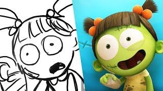 Download Spookiz Storyboard - I'm In Line! | 스푸키즈 | Kids Cartoons | Videos for Kids Video