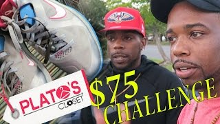 Download $75 Shopping Challenge At Platos Closet Outlet! With Friend! Jordans, Nike! The BEST YET! Video