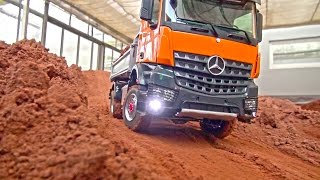 Download RC TRUCK ACTION! MAN! Scania! MB Arocs! Liebherr! Volvo! Komatsu! RC Dozer! RC Digger! Video