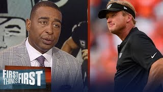 Download Cris and Nick diagnose what's going very, very wrong for the Raiders | NFL | FIRST THINGS FIRST Video