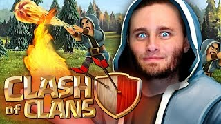 Download Clash of Clans | Mass Wizards, Hog Riders and P.E.K.K.A's Video
