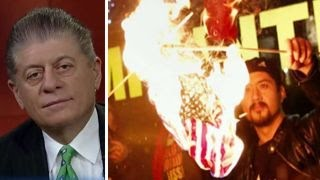 Download Judge Napolitano on the constitutionality of flag-burning Video