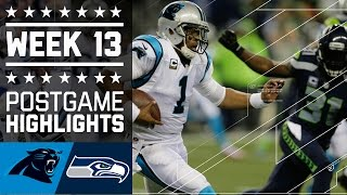 Download Panthers vs. Seahawks | NFL Week 13 Game Highlights Video