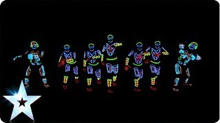 Download Electro Techno Dance Act - Light Balance - Britain's Got Talent 2014 Video