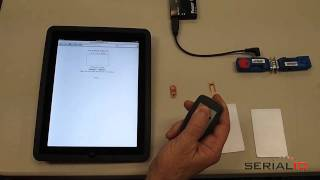 Download Scan NFC Data to iOS apps and use On-Screen Keyboard (iPad, iPhone, iTouch) Video