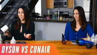 Download Dyson Supersonic hairdryer vs. regular Conair Video